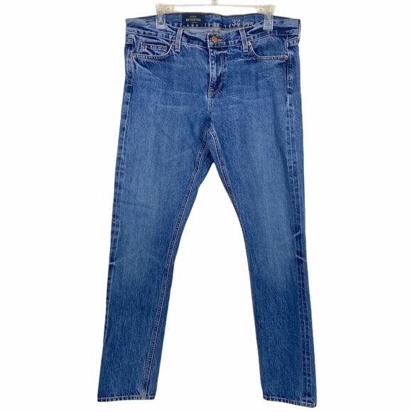J. Crew Matchstick Selvedge Denim Jeans 32